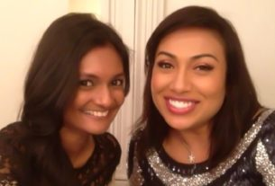 Geetha with Ning Baizura