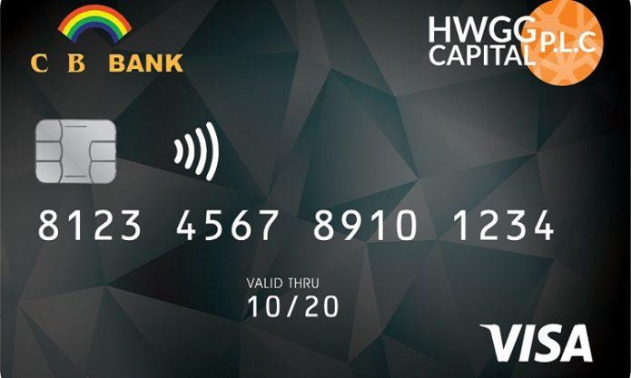 HWG CASH Card