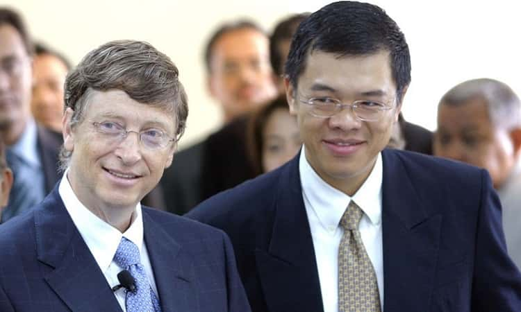 Butt and Bill Gates edited