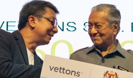 PM Tun Mahathir and Sani